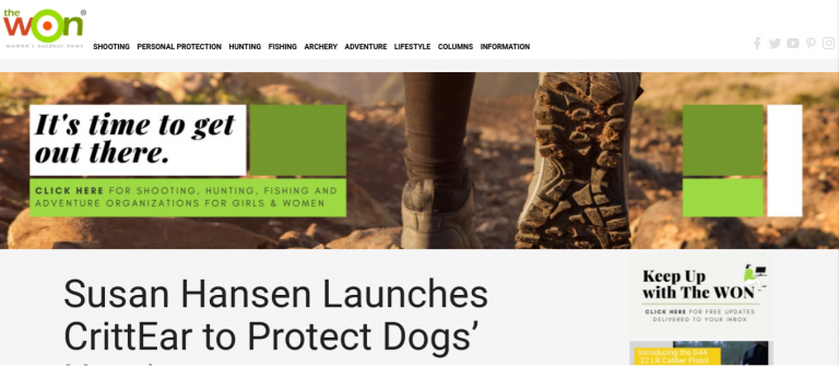 The Women's Outdoor News_CrittEar - In Ear Dog Protection, Dog Ear Plugs!